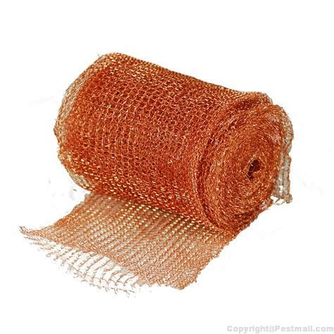 Buy Stuf Fit Copper Wire Mesh 20 ft. Roll to Get Rid of Rodents at $9.95   Pestmall