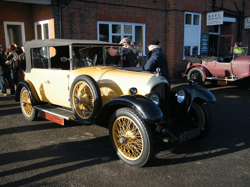 Brooklands New Year's Day 2013 - 1924 Bentley 3-litre