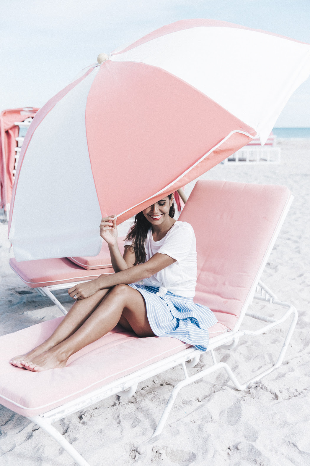 Miami-Striped_Skirt-Knotted_Top-Beach-South_Beach-Candy_Colors-Collage_On_The_Road-Street_Style-OUtfit-38
