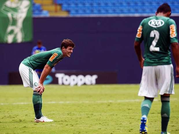 Com 0 a 0 na Arena Barueri, Palmeiras e Sertãozinho permitiram aproximação do Confiança, que venceu Foto: Bruno Santos / Terra
