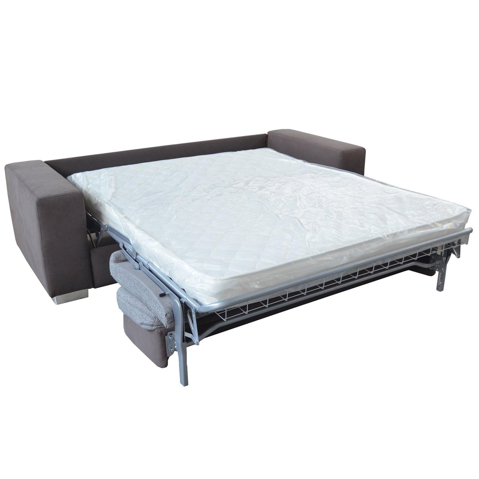 ROLLER Schlafsofa - grau - mit Matratze   eBay