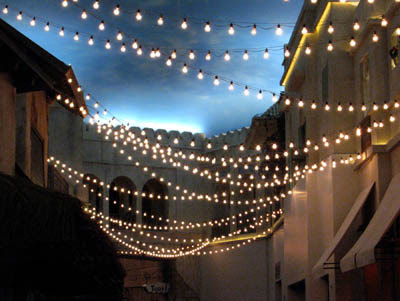 Carnival style string lights – where to buy/rent? - Weddingbee