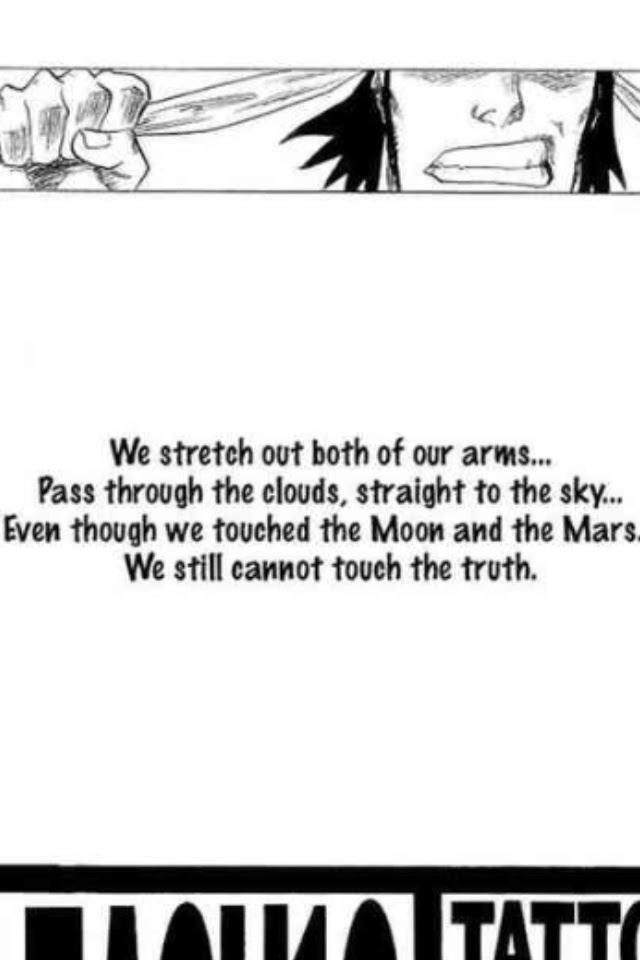 Bleach Manga Quotes. QuotesGram