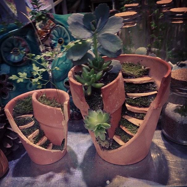 Cool Homemade Fairy Garden Ideas images