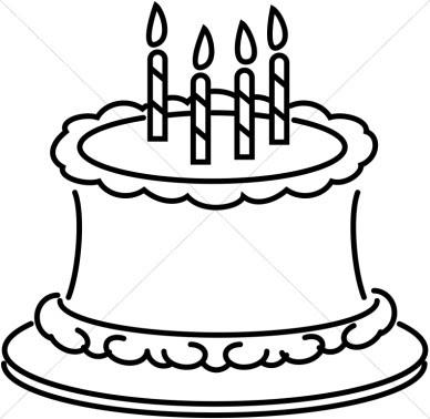 Cake Black And White Slice Of Cake Clipart Black And White