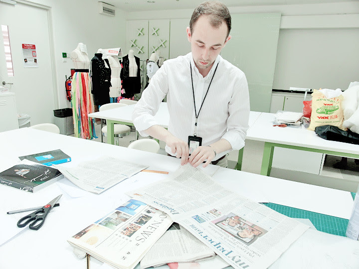 MDIS School of Fashion and Design lecturer