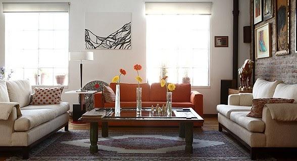 Un loft con decoraci n ecl ctica tecno haus - Decoracion eclectica ...