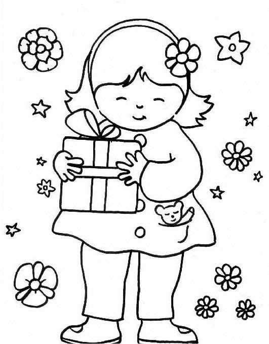 Pictures For Kids To Color. Preschool Color Pages 5