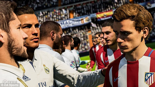FIFA 18 looks stunning with face scans and regionalised fan atmospheres adding to the realism