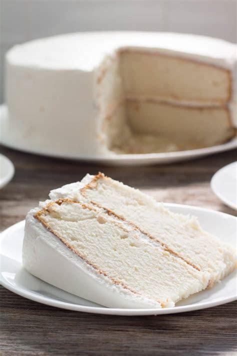 Recipe for White Wedding Cake   Pear Tree Kitchen