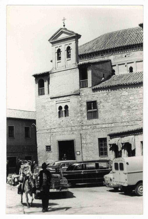 Sinagoga del Tránsito hacia 1970. Colección Luis Alba. Ayuntamiento de Toledo