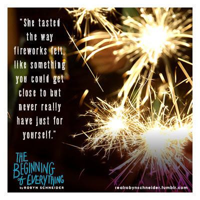Quote Graphics The Beginning Of Everything By Robin Schneider