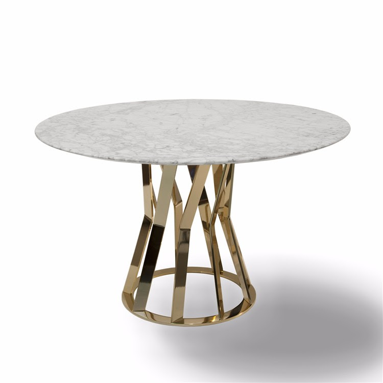 China Gold Supplier Round Quartz Dining Table Tops With ...