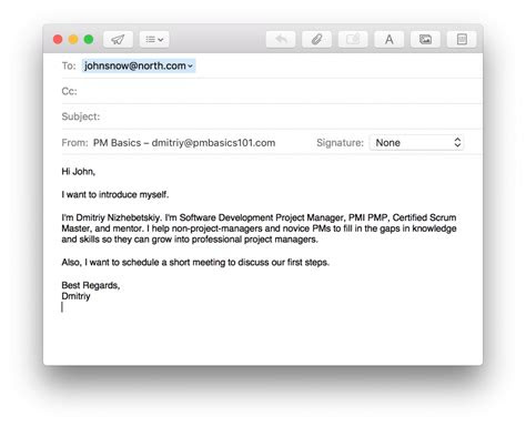 write project management emails  solve problems