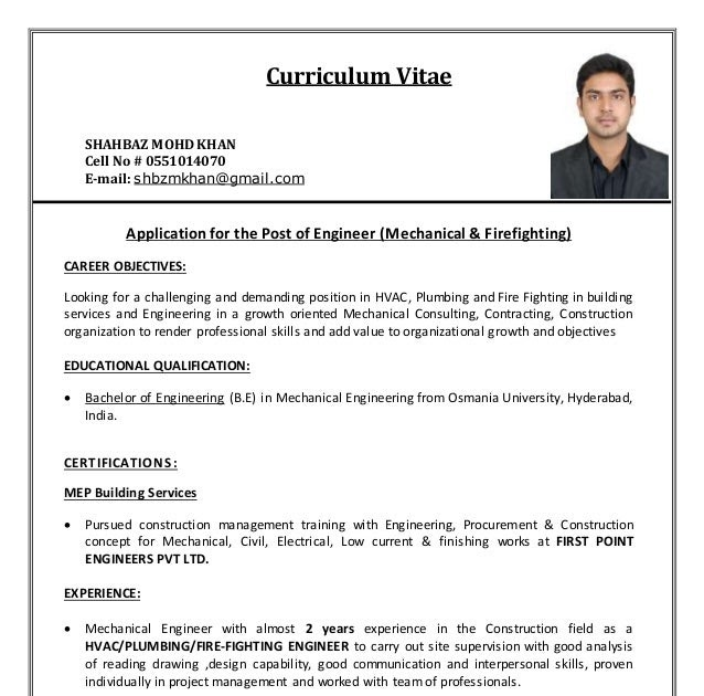 21 New Curriculum Vitae University Application