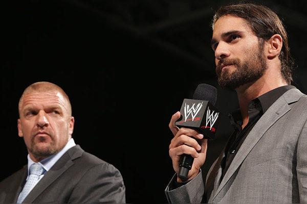 Triple H Seth Rollins