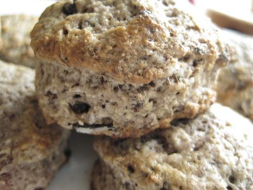 Cookies and Cream Scones
