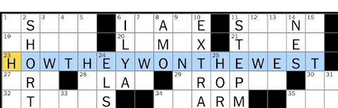 Classic Film Narrated By Spencer Tracy Crossword Clue