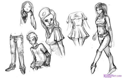draw clothes step  step fashion pop culture