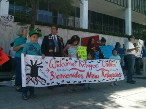 LA rally for migrant youth - 4