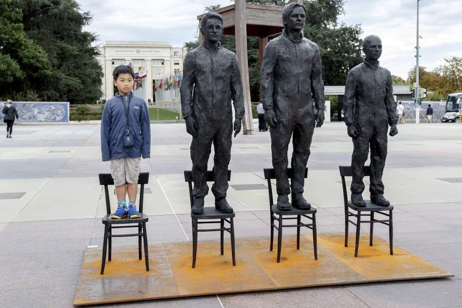 Escultura protesta