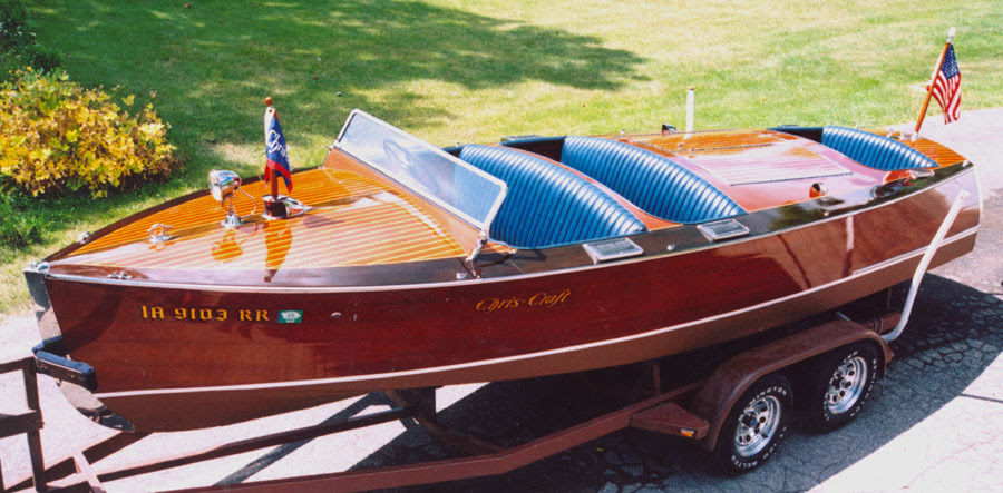 Antique Chris Craft Wooden Boats | Small to Big Boat Plans