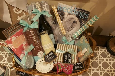 The Monogrammed Marie: Newlywed Gift Basket