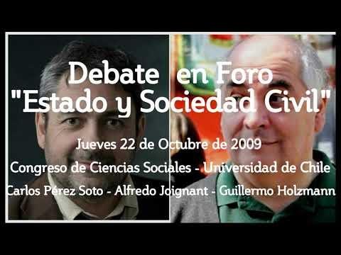 El recordado y memorable debate entre Carlos Pérez Soto y Alfredo Joigna...