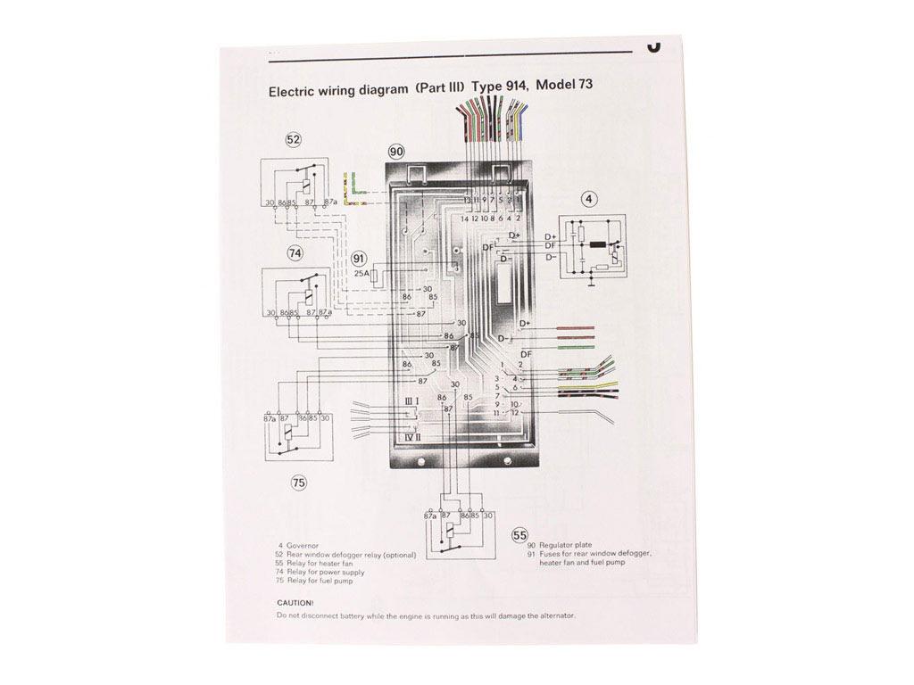 Porsche Wiring Diagram Results