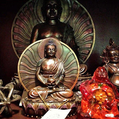 Buddhist-Statues-Shelf-at-the-Lucky-Mojo-Curio-Company