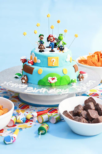 Mario Cake-1