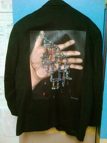 David Harlow's Jacket: Friendship Pins