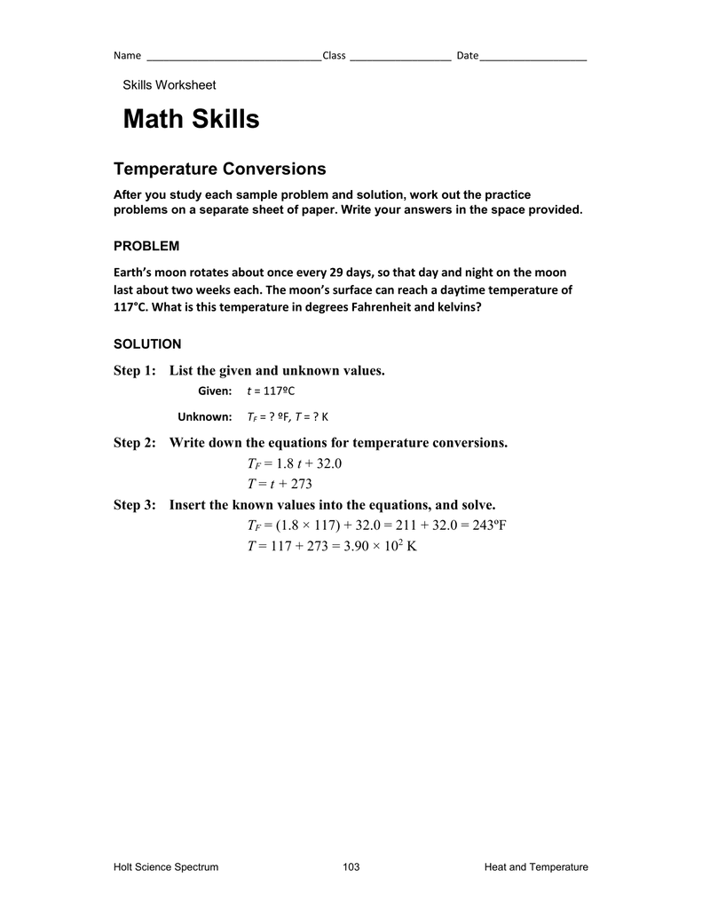 Holt Science Spectrum Worksheets Answers 23. Holt. Best Free Printable Worksheets