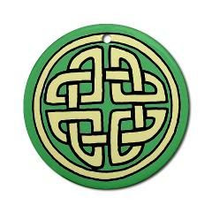 Celtic Knots Christmas Ornament > Ornaments, cool and unique > Commodore's Locker www.commodoreslocker.com/schooner #Lehane #ornaments