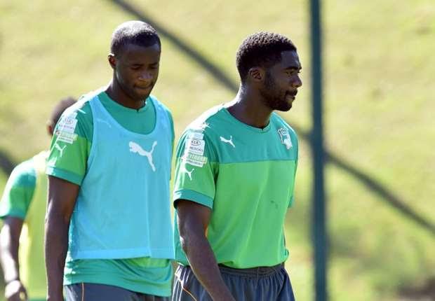 Los hermanos Yaya y Kolo Touré se quedaron con el plantel marfileño pese a la muerte de uno de sus hermanos.