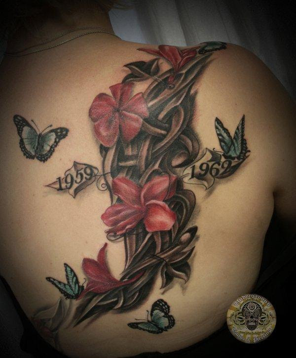 65 Beautiful Flower Tattoo Designs Art And Design