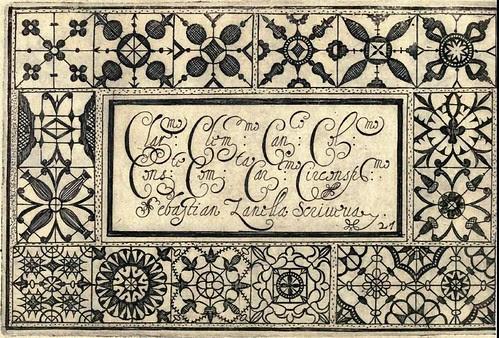 Bertozzi + Zanilla 1604 Lace Typography e