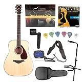 Yamaha FG700S Acoustic Guitar Bundle with On Stage Case, String Winder, Polypropylene Guitar Strap, Tuner, Guitar...