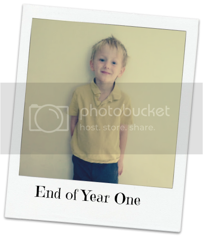 end of year one photo