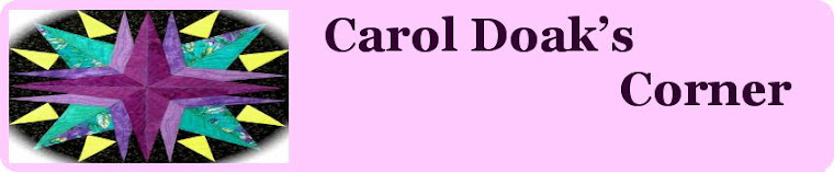 Carol Doak`s Corner