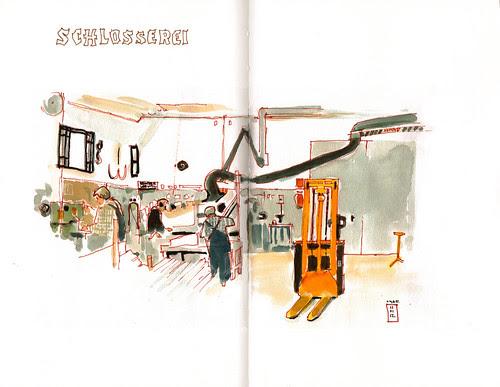 the metal carpentry