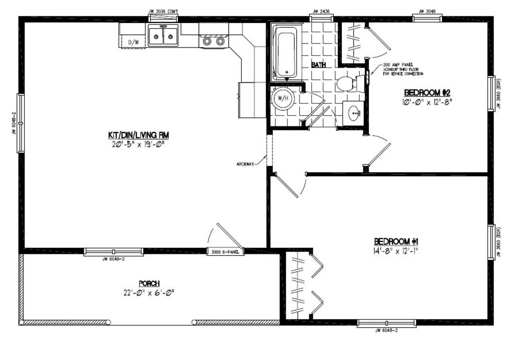 20 Images 24X40 Floor Plans on