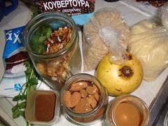 koliva ingredients