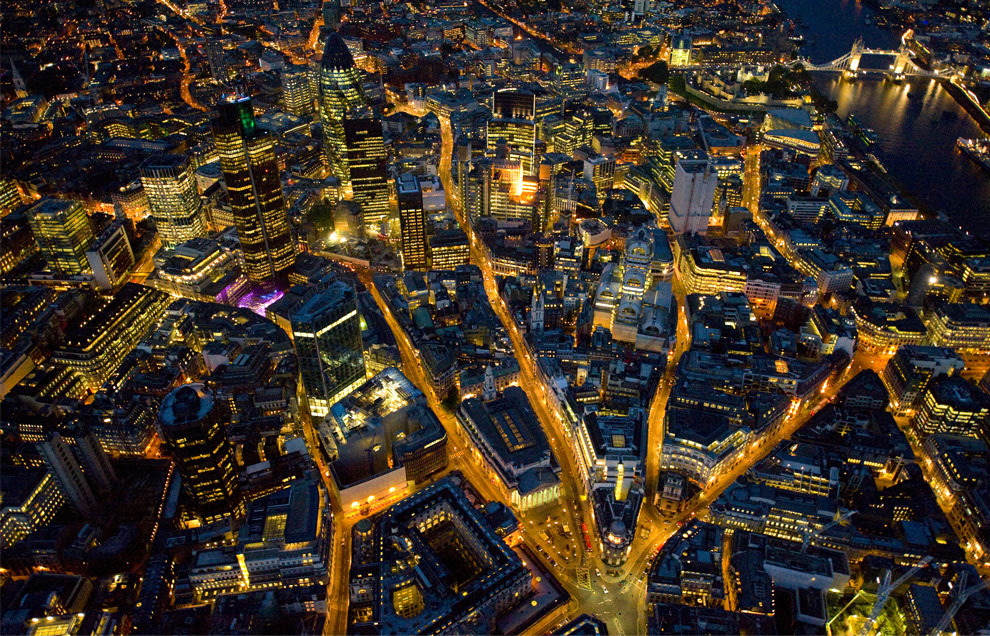 London From Above At Night Photos The Big Picture Boston Com Images, Photos, Reviews