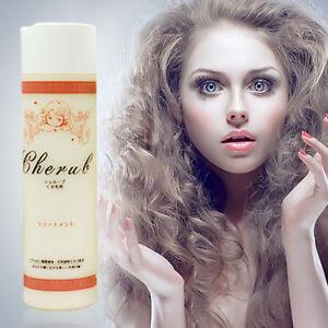 Cherub Shampoo Treatment 300ml For Curly Hair Style Straightening \u0026 Smoothing  eBay