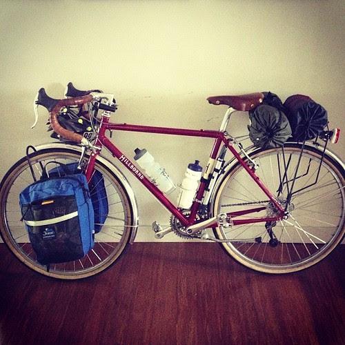 All ready for #bdbsummercamp #rivendellbikes