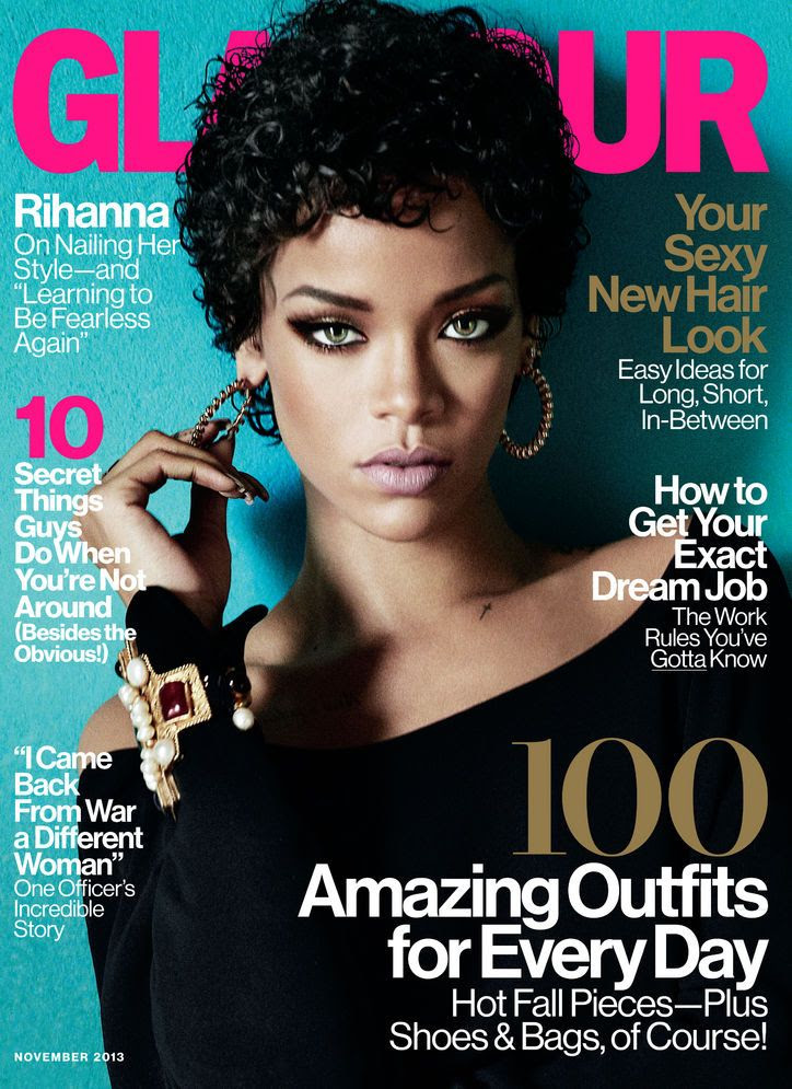 Rihanna : Glamour (November 2013) photo rihanna-november-newsstand-noupc-w724.jpg
