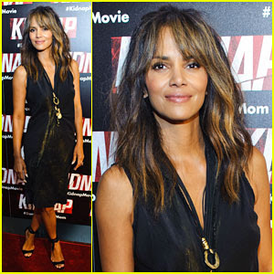 Halle Berry Touches Down in Chi-Town to Promote 'Kidnap'!