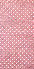 Dotted fabric-ורוד