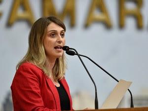 Vereadora suplente do PT desabafou nas redes sociais  (Foto: Elson Sempé Pedroso/CMPA/Divulgação)
